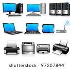 computer technology   computers ... | Shutterstock . vector #97207844
