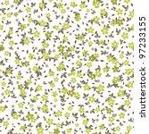 seamless vector floral pattern... | Shutterstock .eps vector #97233155