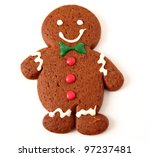 gingerbread cookie | Shutterstock . vector #97237481