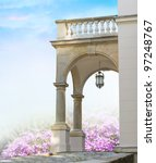Classical Portal With Columns...