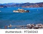 fisherman's wharf alcatraz... | Shutterstock . vector #97260263