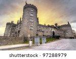 kilkenny castleat dusk  co....