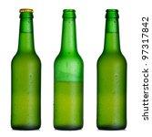 Beer Bottle Closed  Half Full...