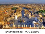 Panorama Of Rome From Saint...