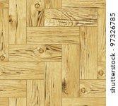 classic wooden oak parquet... | Shutterstock .eps vector #97326785