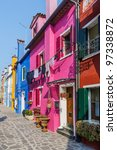 panorama of the colorful houses ... | Shutterstock . vector #97338872
