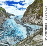 franz josef glacier in new...   Shutterstock . vector #97347134
