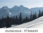Tatra Mountain In Winter...