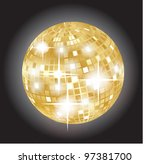 disco ball | Shutterstock .eps vector #97381700