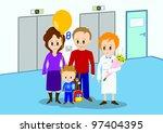 illustration of child... | Shutterstock .eps vector #97404395
