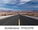 Long Straight Desert Highway.