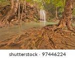 erawan waterfall located in... | Shutterstock . vector #97446224