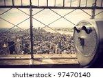 panoramic view over new york... | Shutterstock . vector #97470140