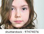 close up portrait of a... | Shutterstock . vector #97474076