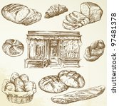 Bakery   Hand Drawn Collection