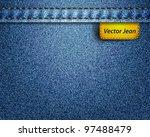Vector Jean Fabric