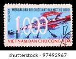 vietnam   circa 1964  a stamp... | Shutterstock . vector #97492967