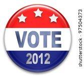 election button badge | Shutterstock . vector #97504373
