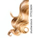 blond hair | Shutterstock . vector #97513604