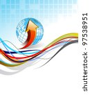 professional  corporate or... | Shutterstock .eps vector #97538951