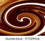 Background of chocolate - stock photo