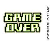 Game Over Concept   Illustration