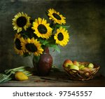 Still Life With Apples And...