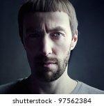 Bearded Man Portrait  Lit From...