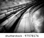 Abstract Grand Steel Structur...