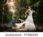 Magic Scene In The Wild Park...