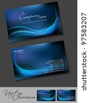 professional business cards ... | Shutterstock .eps vector #97583207