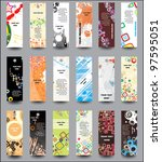 set advertising labels | Shutterstock .eps vector #97595051