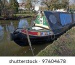 stratford canal  warwickshire  | Shutterstock . vector #97604678