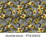seamless pattern can be used...   Shutterstock .eps vector #97610642