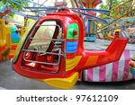 Toy Helicopter Carousel In...