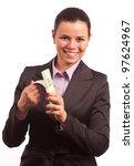 portrait of business woman... | Shutterstock . vector #97624967