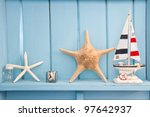 decoration with shellfish ... | Shutterstock . vector #97642937