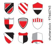 crest badges | Shutterstock . vector #97660745