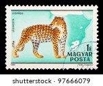 hungary   circa 1981  the... | Shutterstock . vector #97666079
