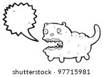 crazy cat cartoon | Shutterstock . vector #97715981