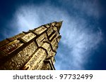 Image Of Church Steeple...