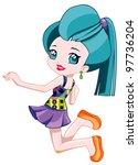 pretty teen   Shutterstock . vector #97736204