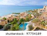 Panorama Of Resort On Dead Sea...