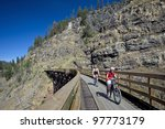 Myra Canyon By Kelowna   Augus...