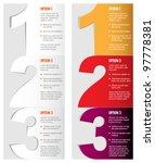 vector paper progress... | Shutterstock .eps vector #97778381