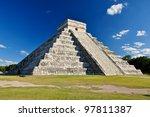 mayan ruin   chichen itza mexico | Shutterstock . vector #97811387