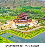 horkumluang in chiang mai... | Shutterstock . vector #97858505