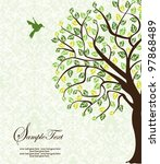 family reunion invitation card | Shutterstock .eps vector #97868489