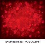 heart background | Shutterstock .eps vector #97900295