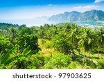 azure bay heaven seascape | Shutterstock . vector #97903625